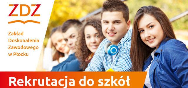Rekrutacja do szkół ZDZ w Płocku – 2021/2022